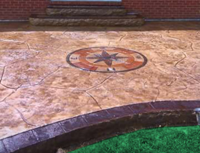 Bon Decorative Concrete Patio