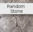 Random Stone Decorative Concrete Pattern